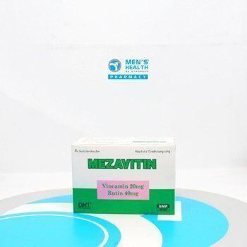 Thuốc Mezavitin – Tăng cường tuần hoàn
