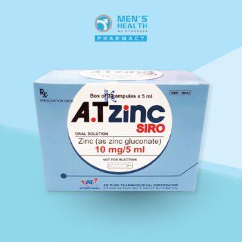 A.T ZINC Siro – Bổ sung kẽm cho phái mạnh thêm sung mãn