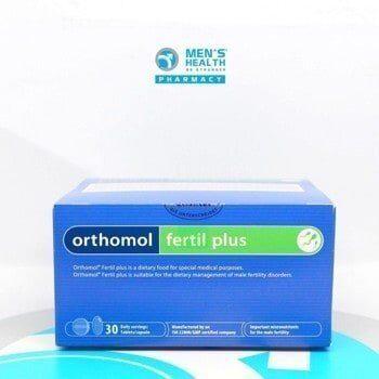 Orthomol Fertil Plus – Cải Thiện Chất Lượng Tinh Trùng