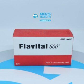 Flavital 500 – Thuốc hạ mỡ máu