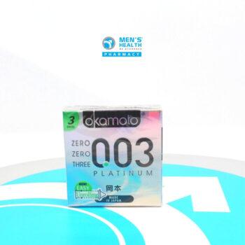 Bao cao su Okamoto 0.03 Platinum