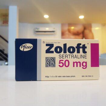 ZoloftSertraline 50mg – Điều Trị Xuất Tinh Sớm