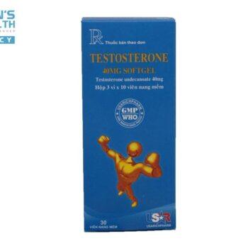 TESTOSTERONE 40MG SOFTGEL