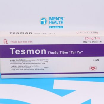 "Tesmon ""Tai Yu"" 25mg/ml – Thuốc tiêm testosterone 10 ống"
